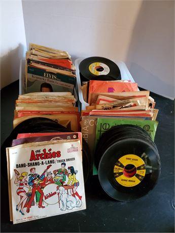 All The Vinyl 45's