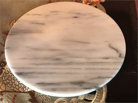 Thin Round Marble Tray