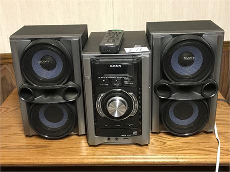 Sony Mini Hi fi Component System