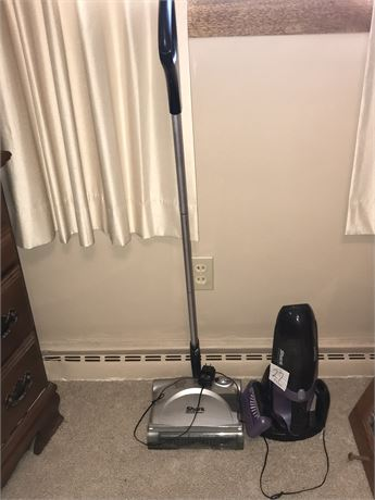 Shark Cordless Handheld Vacuum and Sweeper (missing charger)