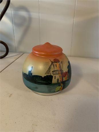 Painted Lamp Shade
