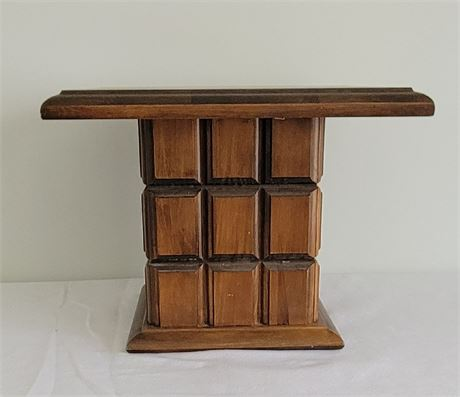 MCM Square End Table #1