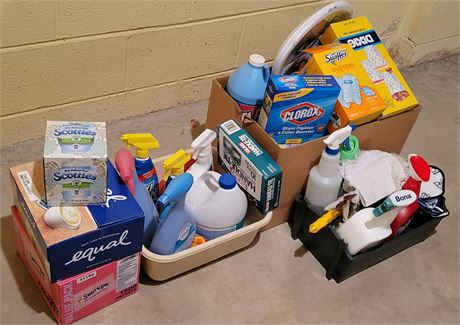 Cleaning Supplies Clean Out
