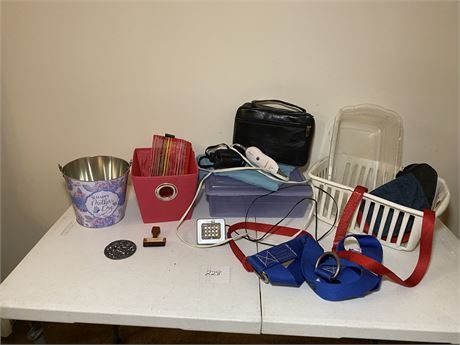 Miscellaneous Lot with Bushnell Binoculars, a Bible, and More!