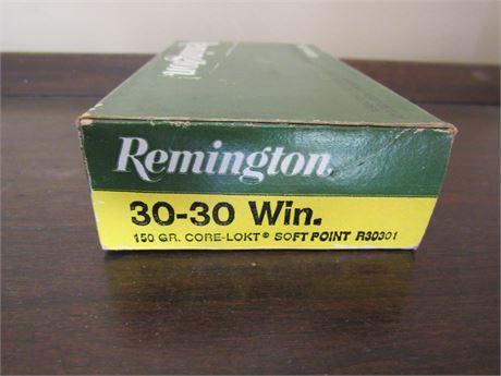 30-30 Remington Ammo 19 rounds