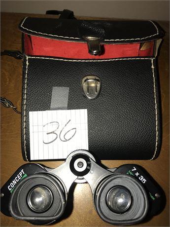 Concept 7x35 Binoculars with Case