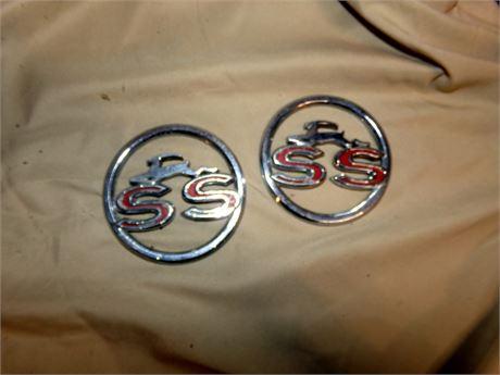 1963 Impala SS Emblems
