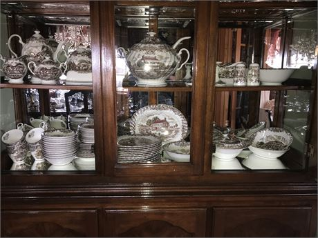 Johnson Bros. Heritage Hall Complete Service for 12 with Many Serving Pieces