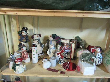 Snowmen Collection