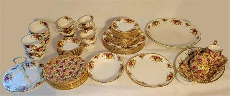 Huge Royal Albert China Collection