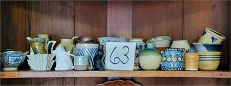 Smaller-Size Pottery Lot