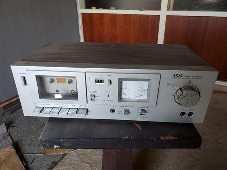 Akai Model CS-MOIA Stereo Cassette Deck