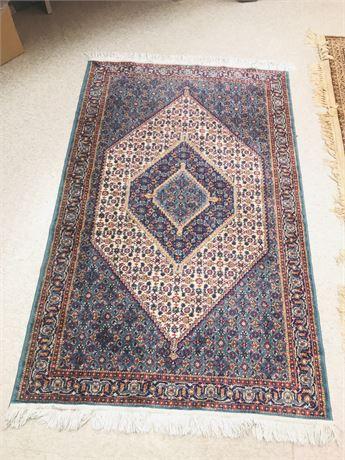 Vintage Silk Persian Rug (Approx. 4'x6')