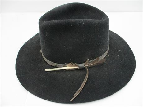 Fancy Outback # 1311 Jumpbuck Cowboy Hat  w/ Leather Band 7