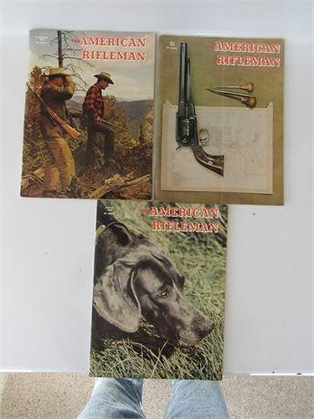 1969 American Rifleman Magazines