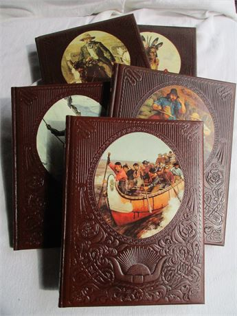 Vintage 1974 Time Life Western Histor Reference Book Series