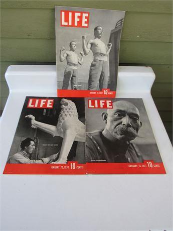 1937 Life Magazines: General Hayashi