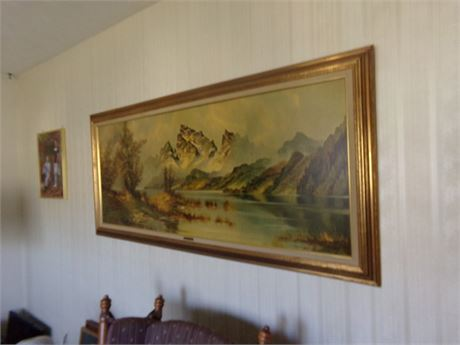 Large Framed Picture- High Glory-Wijmer
