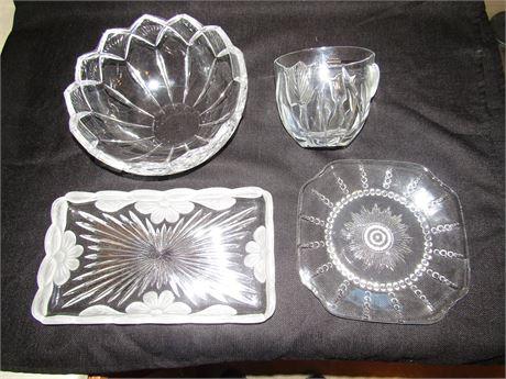 Crystal Serving Pieces