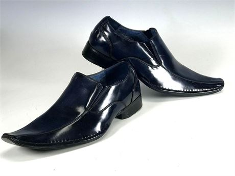Blue Leather Shoes by Evergreen Men's Size 8