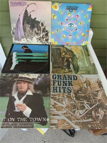 Rock Record Lot: Grand Funk