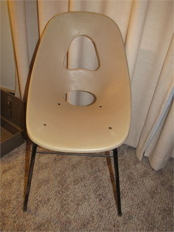 MCM Plastic Chair