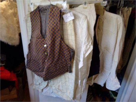 Large Set of Men's Clothing from the 30's and 40's