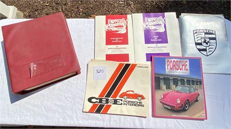 Porsche Factory Binder of Color Codes & Material Samples
