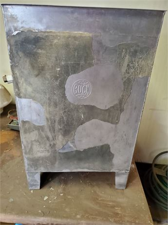 Buck Stainless Steel Waste Can