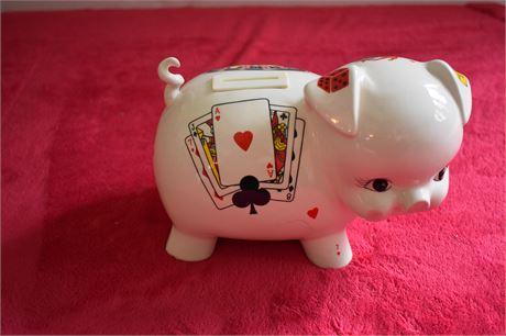 Casino themed Piggy Bank