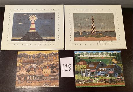 Signed Prints from Charles Wysocki and Warren Kimble
