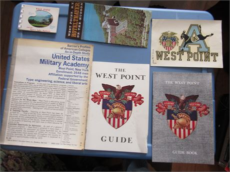 West Point Academy Army Ephemera Lot