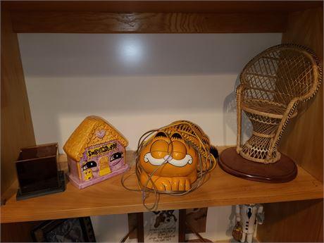 Garfield Telephone & Misc Lot