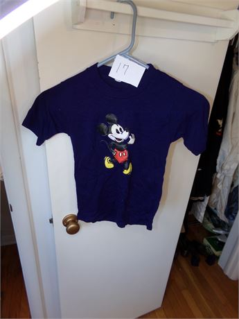 Vintage Mickey Mouse T-Shirt size 12