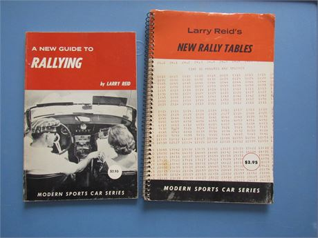 Road Rally Books, vintage paperbacks
