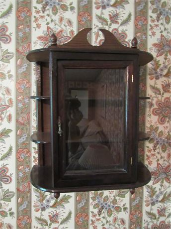 Display Cabinet, Wall Mounted
