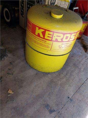 Sears Craftsman Metal Kerosene Can 5 1/4 Gallon