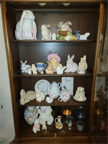 China Cabinet Clean Out
