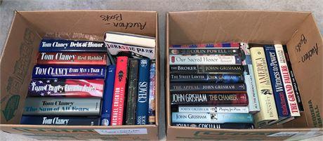 Large Variety of Hardback Novels
