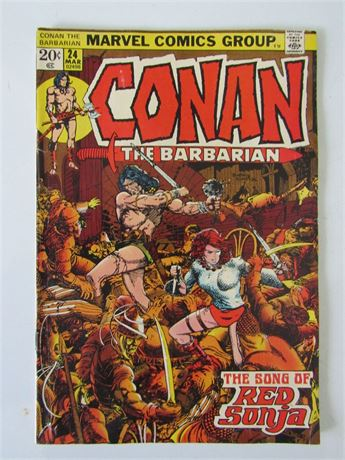 Conan the Barbarian #24 Song of Red Sonja