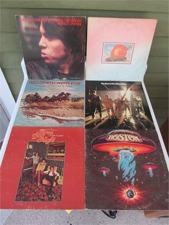 Rock Record Lot; Boston