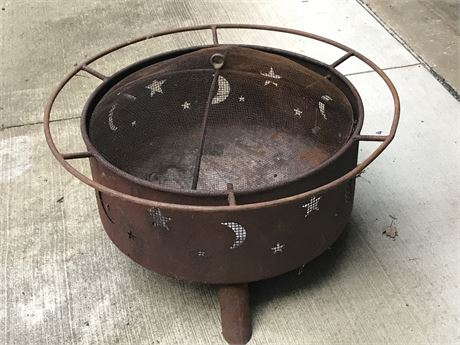 Awesome Fire Pit with Lid