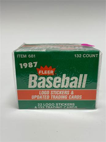 1987 Fleer Update Baseball Card Set