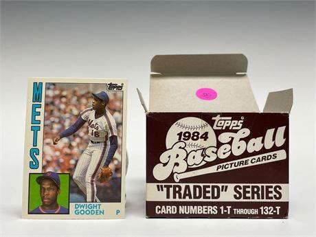1984 Topps Traded Baseball Card Set