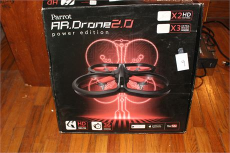 Parrot AR Drone 2.0 Power Edition untested