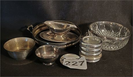Silver Mixed Lot - NOT ALL MARKED STERLING