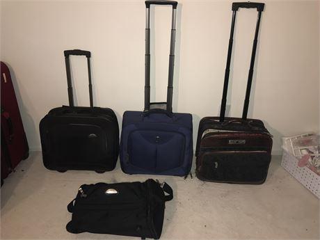 Small Travel Bags inc Travel Pro, Samsonite, Bob Mackie & Brighton