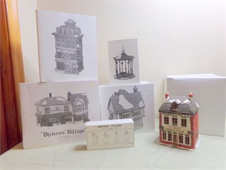 Dept. 56 Heritage Village Collection- Dickens' Village Collection