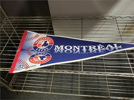 Montreal Expos Team Pennant