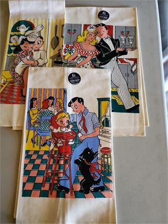 Vintage P & S Creations Kitchen Towel Set